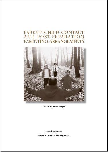 Parent-Child Contact and Post Separation Parenting Arangements