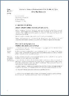 Form SPC – Application for divorce interim gender recognition certificate issued after marriage