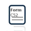 Form C52