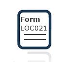Form LOC021