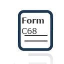 Form C68