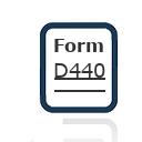 Form D440