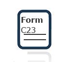 Form C23