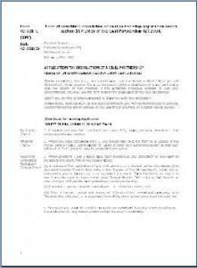 Form SPF – Application for dissolution of civil partnership -interim gender recognition certificate
