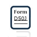 Form D50J
