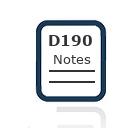 Form D190 Notes