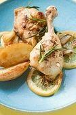Chicken breast with lemon and herbs