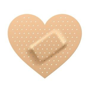 Trust & Sticky Plasters on your Heart.